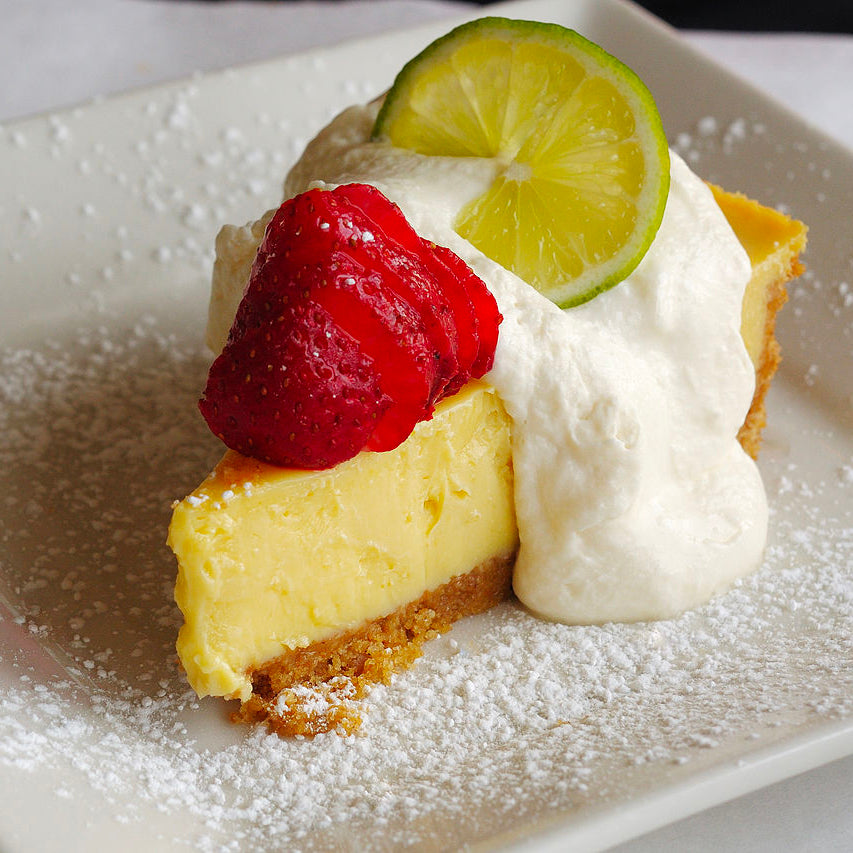 Honey Sweetened Key Lime Pie