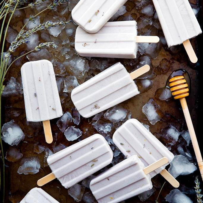 Lavender Honey Popsicle