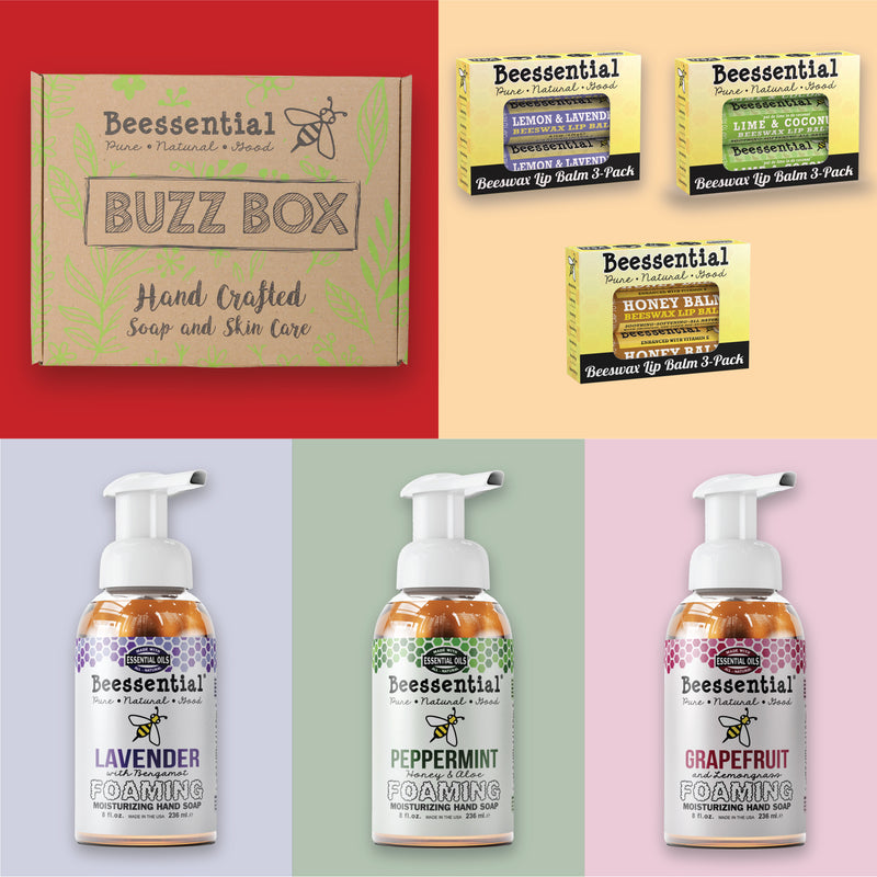 Three for the Hands & Three for the Lips - Buzz Box Gift