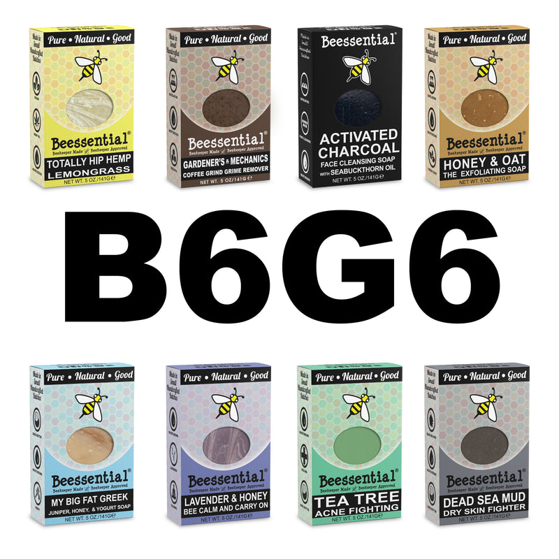 Buy 6 Bar Soap Get 6 Free (B6G6)