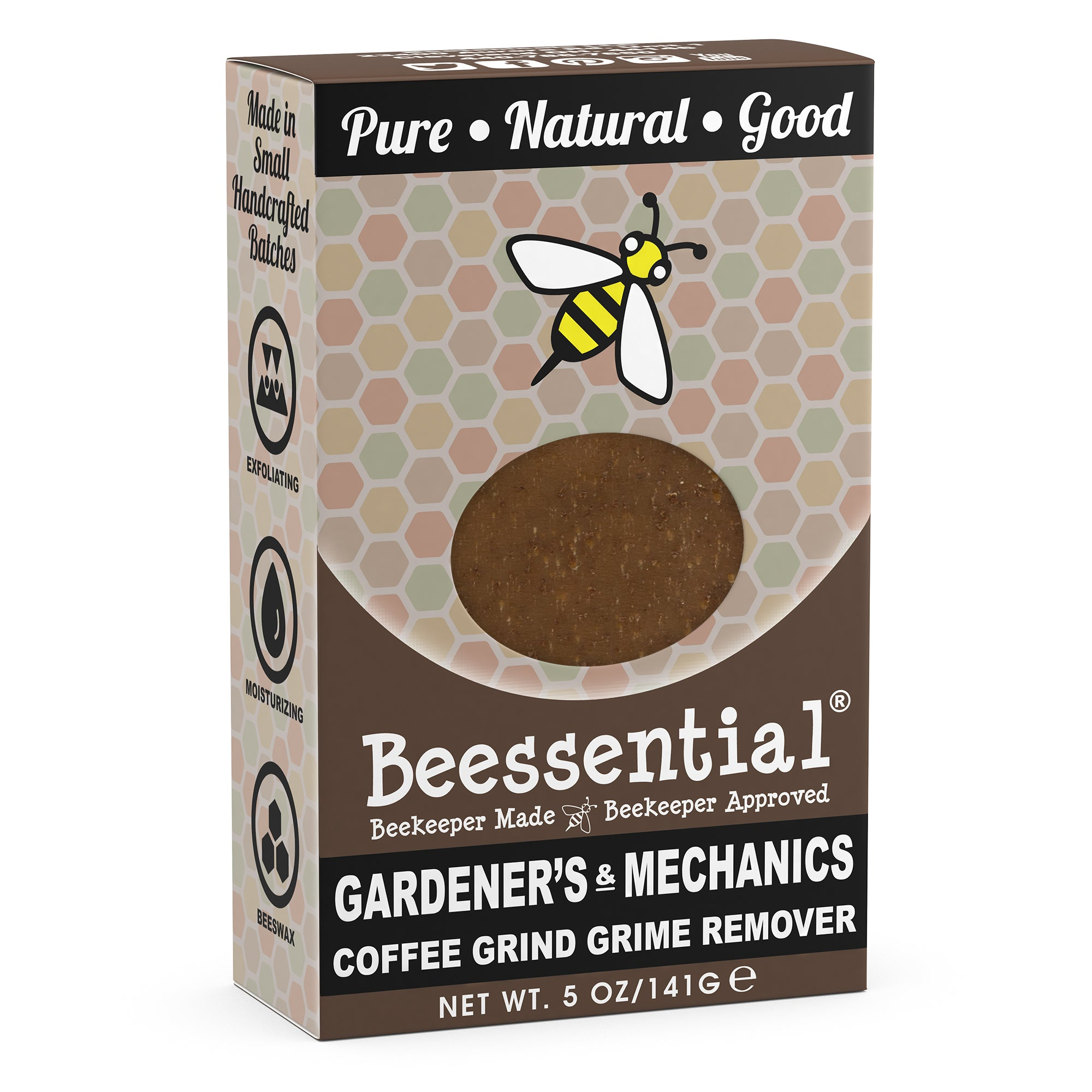 Coffee Mechanic's and Gardener's Bar Soap