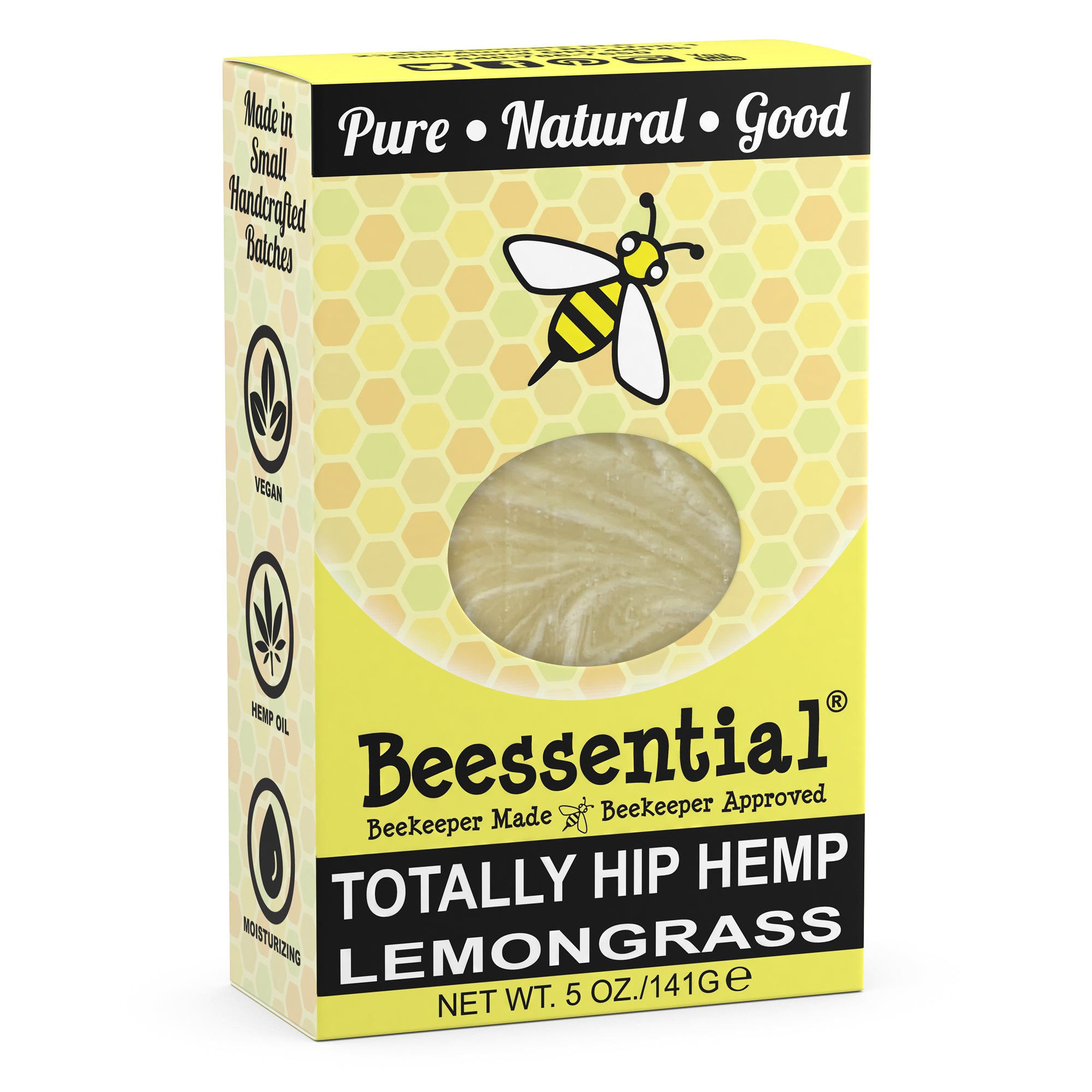 Totally Hip Hemp and Lemongrass Bar Soap