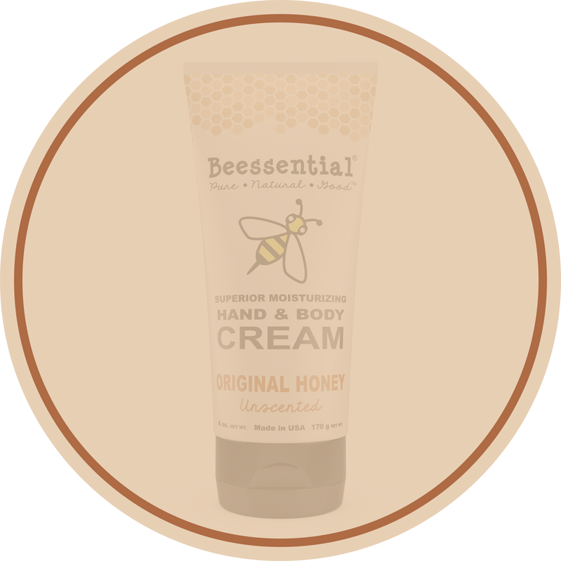 Unscented Honey Hand Cream