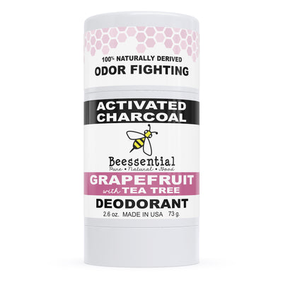 Grapefruit Activated Charcoal Deodorant