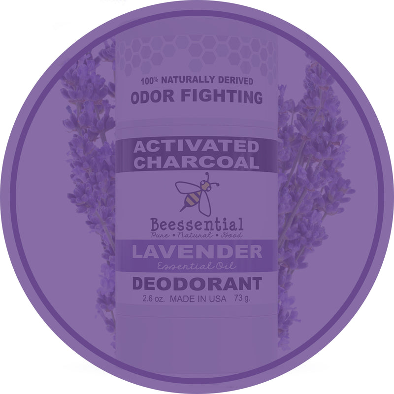 Lavender Activated Charcoal Deodorant