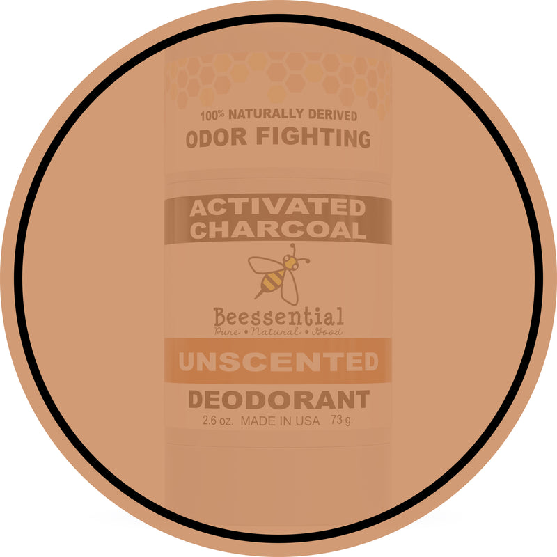 Unscented Activated Charcoal Deodorant