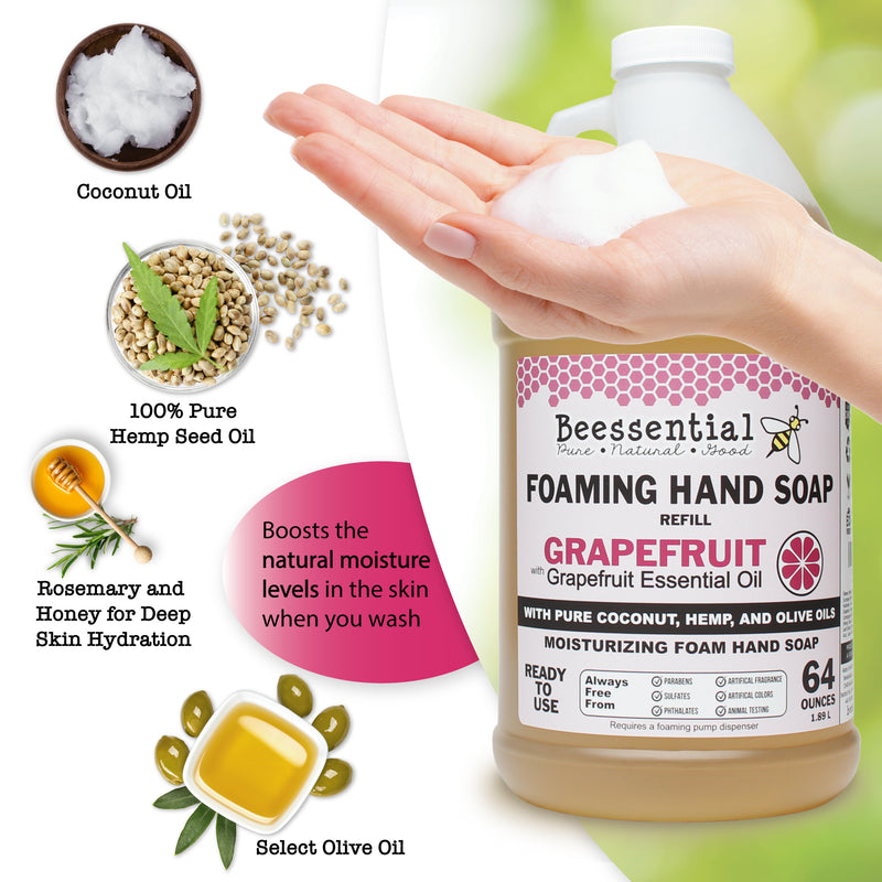 Grapefruit Foaming Soap Refill