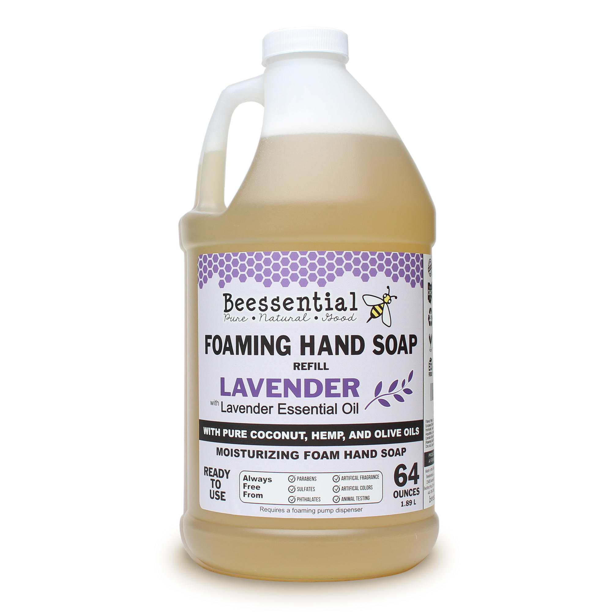 Lavender Foaming Soap Refill