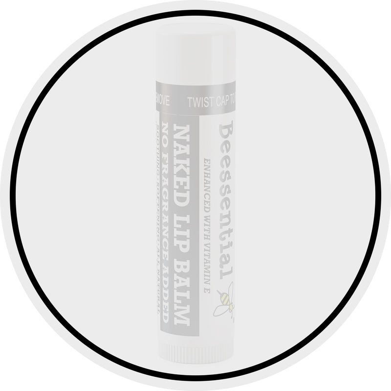 Naked Unscented Lip Balm