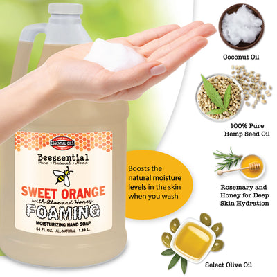 Orange Foaming Soap Refill