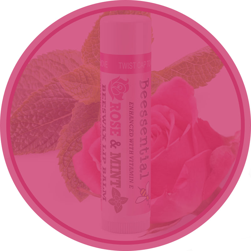 Rose Mint Lip Balm