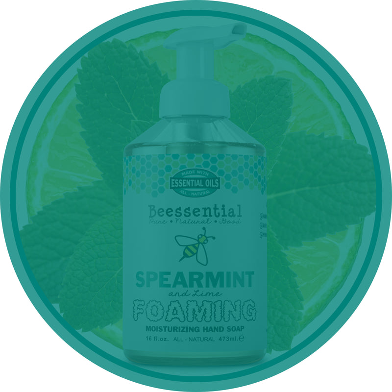 Spearmint Lime Foaming Soap