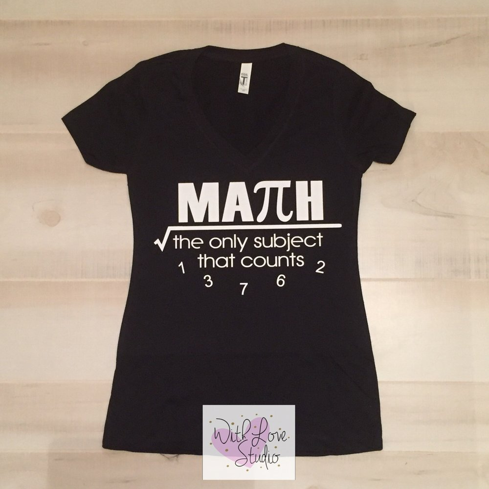 837d99462 Math Counts Shirt – WithLoveStudio