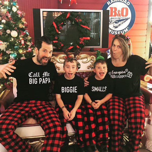Christmas Family PJ shirts