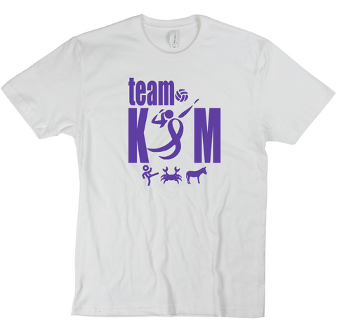 Team Kim Fundraiser Shirts