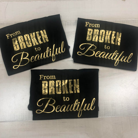 Broken is the New Beautiful