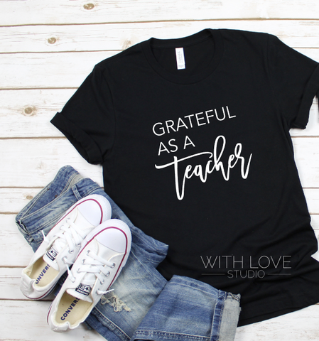 Grateful as a Teacher
