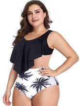 Sexy Printed Empire Tankini