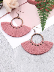Vintage 10 Colors Bohemia Hollow Earrings