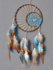 Indian Double Ring Feather Decoration Accessories