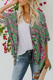 Band Collar  Paisley Cardigans