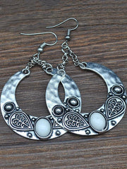 Vintage Bohemia Carving Earrings