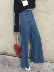 Empire Casual Wide Leg Jean Pants