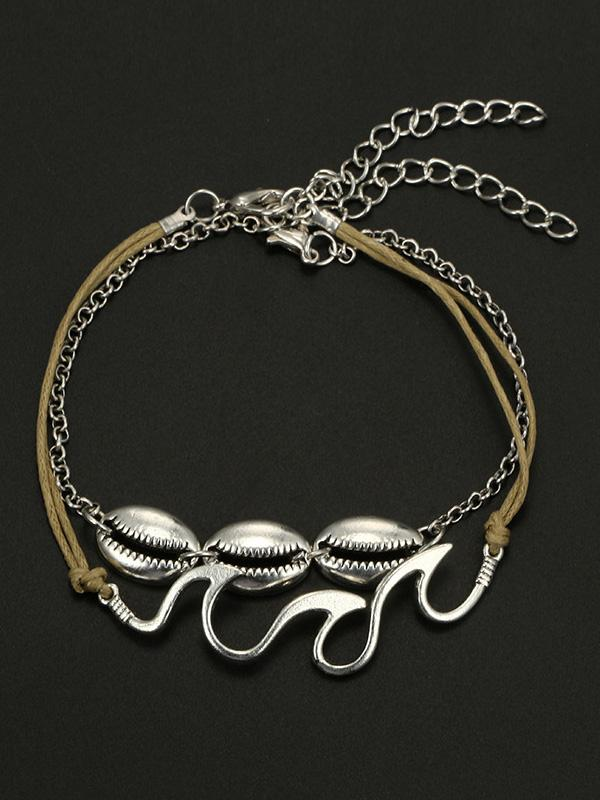 Vintage Circle Shell Footchain Accessories