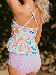 Bandeau Backless Tankini