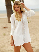 Fashion Hollow Bandage Cover-ups Swimwear