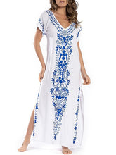 Vacation Loose Printed Cover-ups Swimsuit