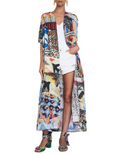 Colorful Cropped Printed Cover-ups Swimwear