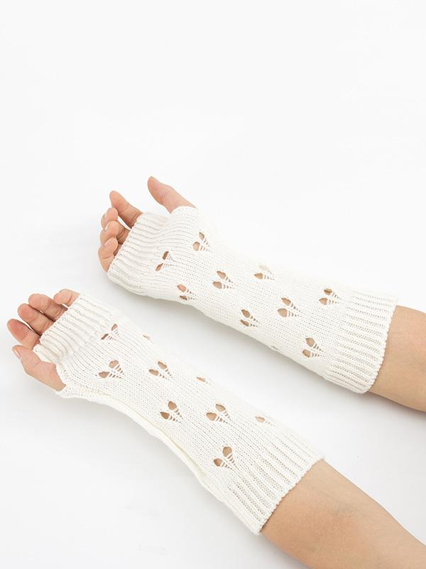 Knitted Hollow 6 Colors Sleevelet Accessories