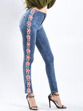 Fashion Elastic Jeans Pants Bottoms