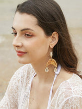 Rattan Shell Conch Earring Accessories