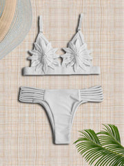 Crochet Hollow Sexy Bikinis Swimwear