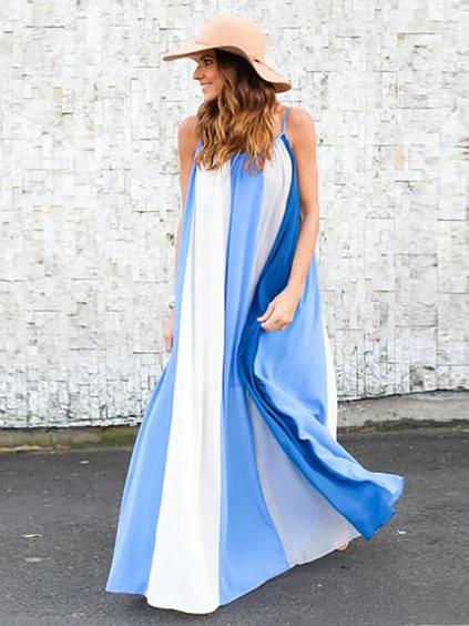 Strapless Long Beach Dress