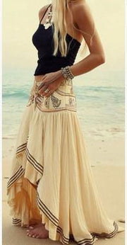 Pretty Asymmetry Bandage Skirt Bottoms