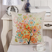 Trees Pattern Square Pillow Case