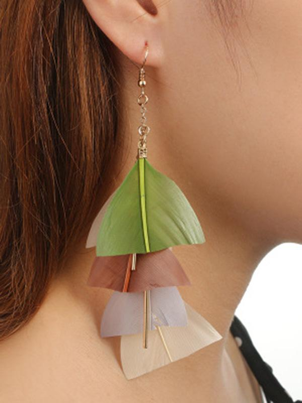 Fashion Tassels Earrings Accessories