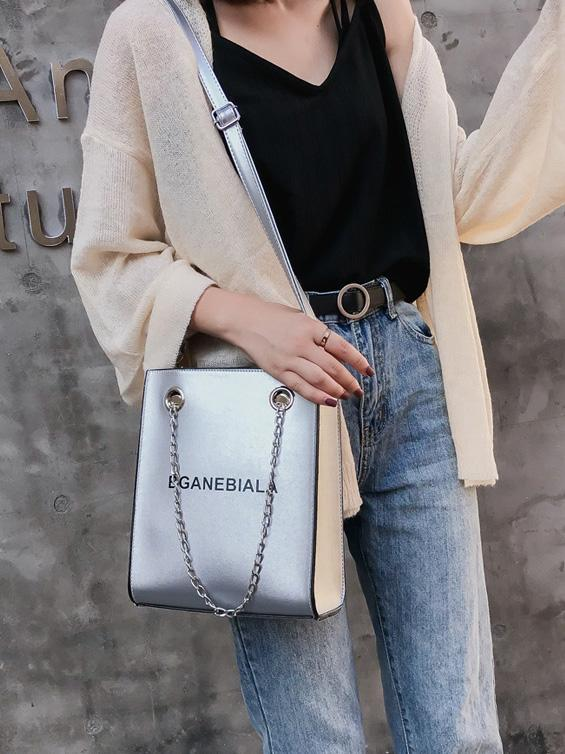 Fashion One-shoulder Chain Bag