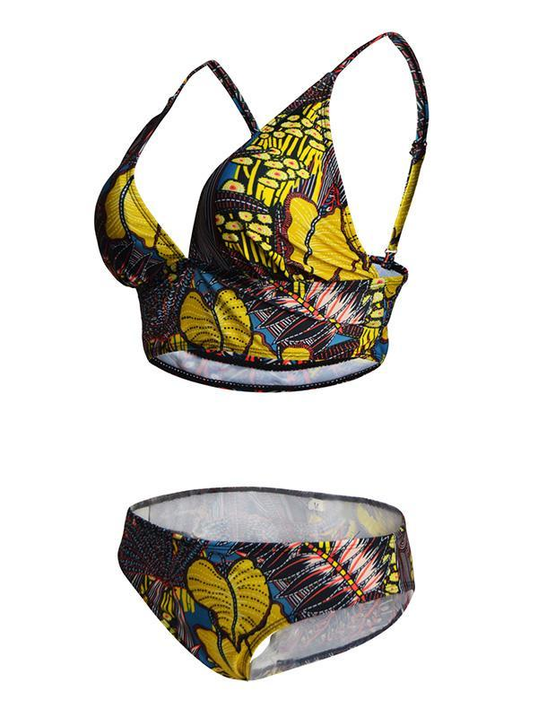 National Printed Bikinis Swimwear