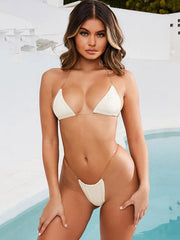 Triangle Top With Panty Bikini Set