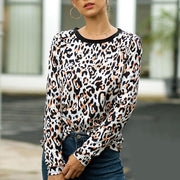 Fashion Print Long Sleeve T-Shirt