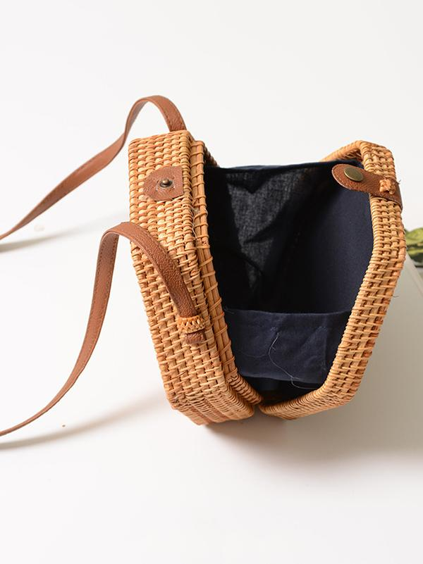 Hexagon Basket Style Bohemia Little Bag