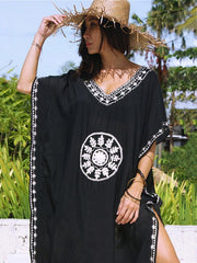 Vacation Loose Bikini Dress Cover-Ups Swimwear