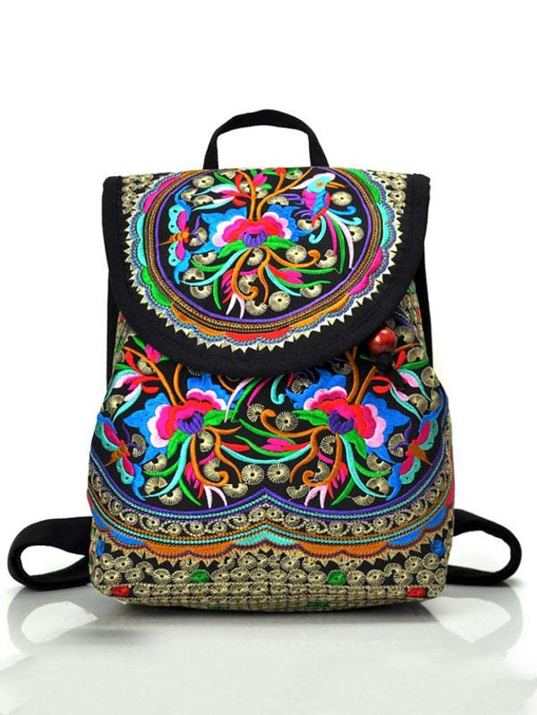 National Exquisite Embroidered Mini Bag