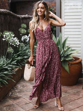 Sexy Bow-embellished Spaghetti-neck Maxi Dresses