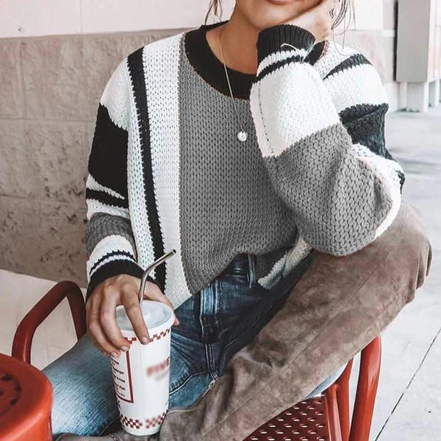 Long Sleeve Boho Knitted Shirts Tops