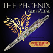 Phoenix Pen Kit - Gunmetal KIT ONLY Additional parts required - Wood Acrylic Supply
